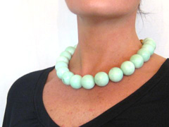 green moonstone necklace